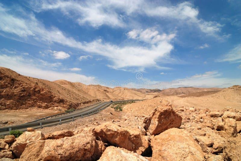 judean öken fotografering för bildbyråer