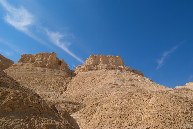 judean naturreserv för öken arkivfoto