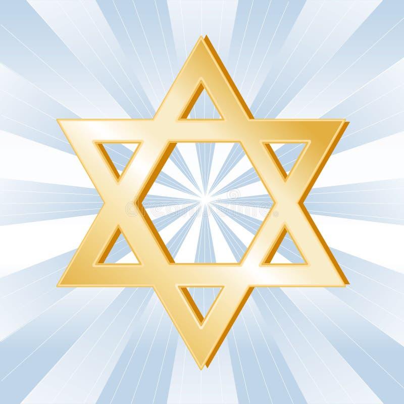 judendomsymbol stock illustrationer