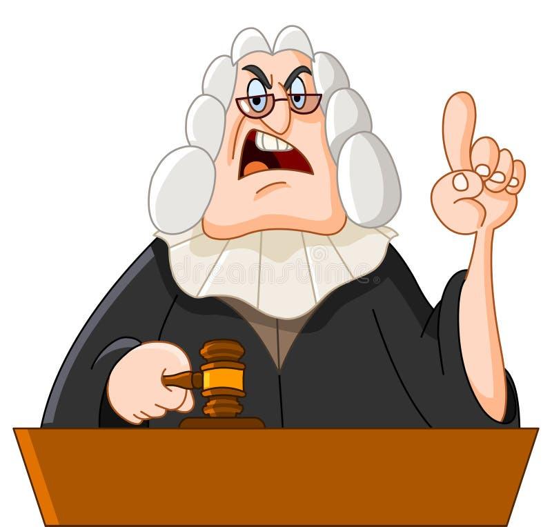 Judge royalty free illustration