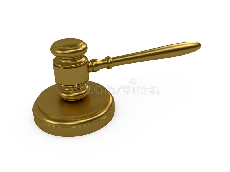 Download Judge gavel stock illustration. Illustration of judge - 17659681