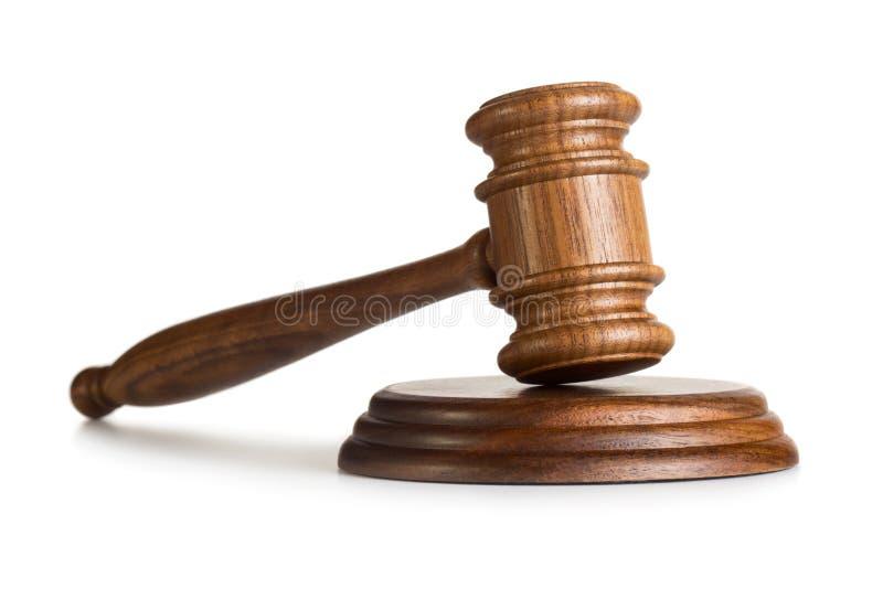 Judge gavel royalty free stock photo