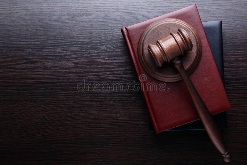 Judge gavel stock image