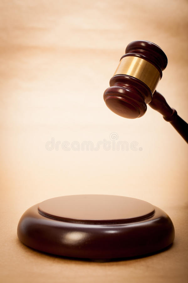 Download Judge Gavel and Soundboard stock photo. Image of judgment - 25679700
