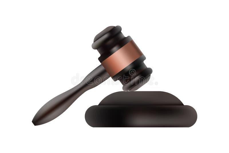 Judge gavel symbol. royalty free stock image