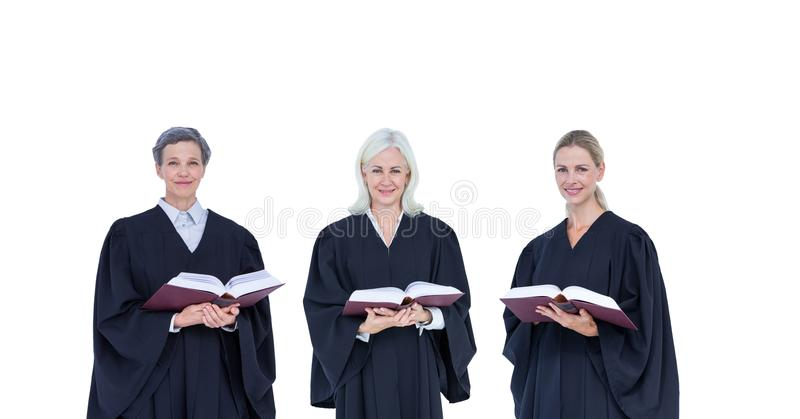 Judge group stock photo