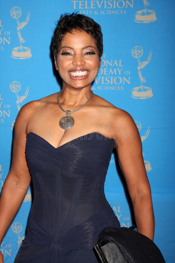 Judge Lynn Toler arriving at the 38th Annual Daytime Creative Arts & Entertainment Emmy Awards