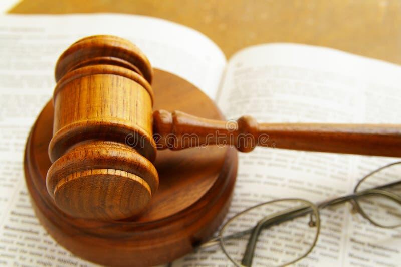 Judge S Gavel Stock Image