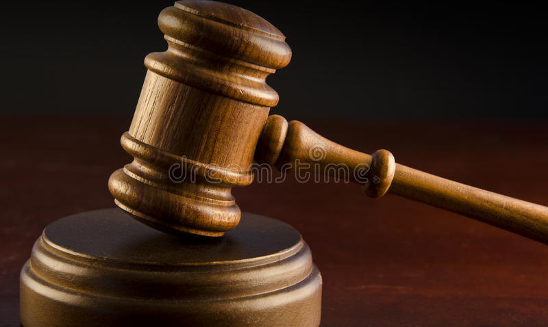 Judge's Gavel royalty free stock images
