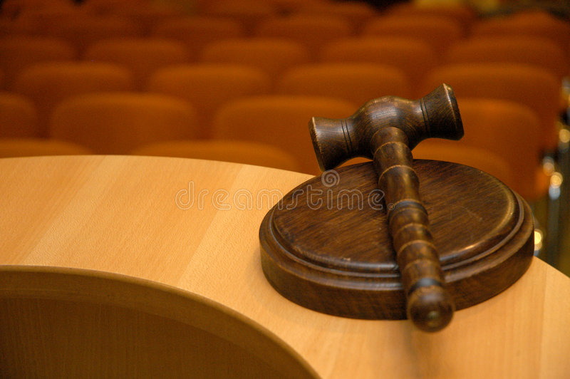 Judge´s gavel royalty free stock photography