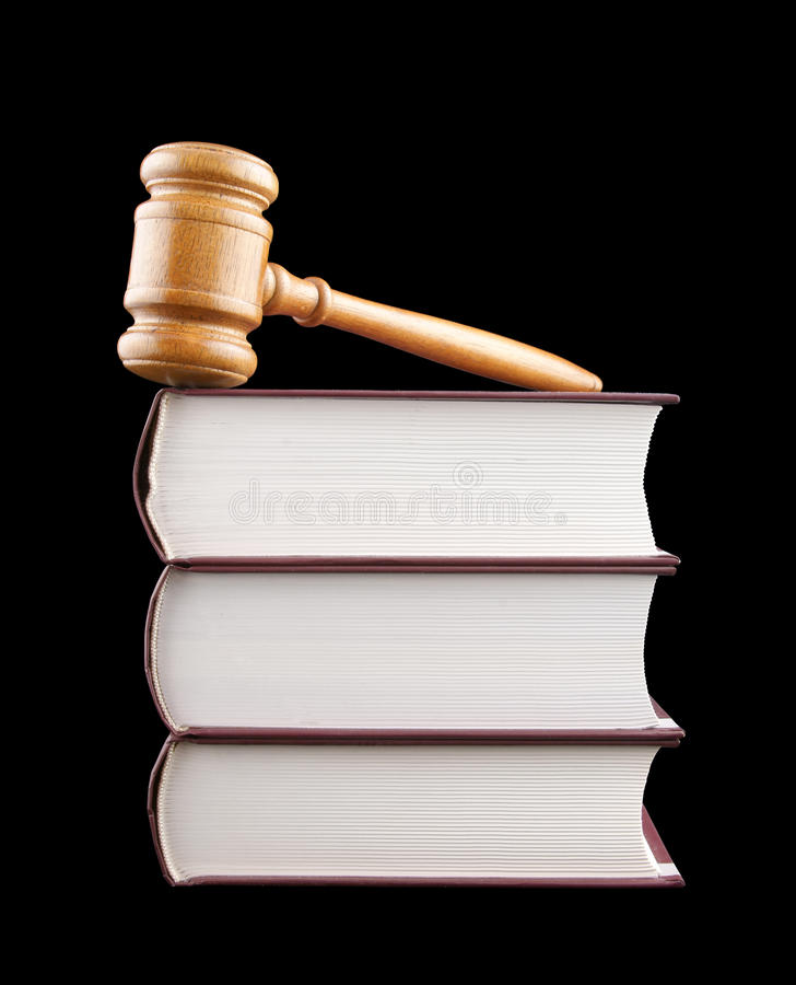 Download Judge's Gavel And Stack Of Legal Books Stock Photo - Image: 11813250