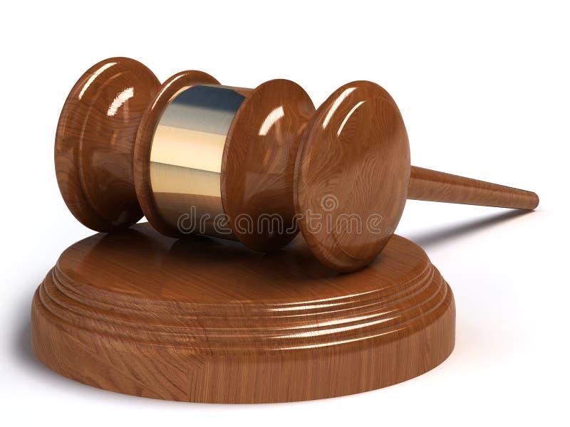 Download Judges hammer stock illustration. Image of antique, legal - 19852498