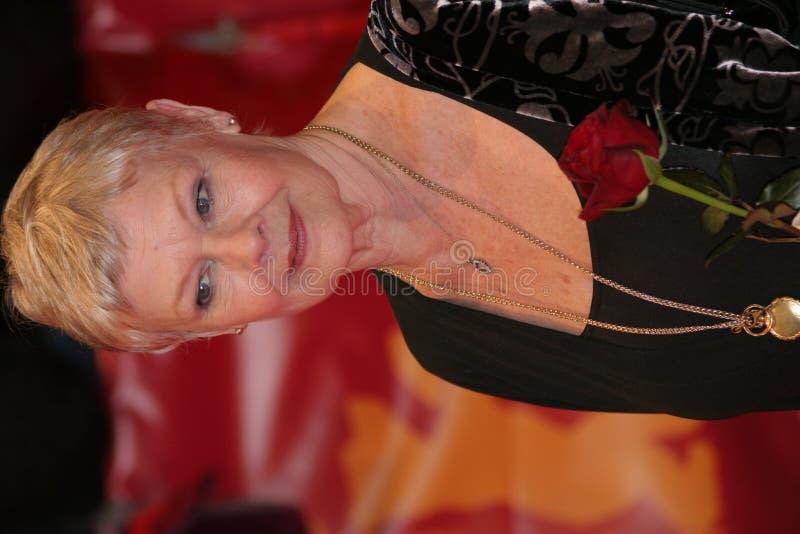 Judi Dench royalty-vrije stock afbeelding