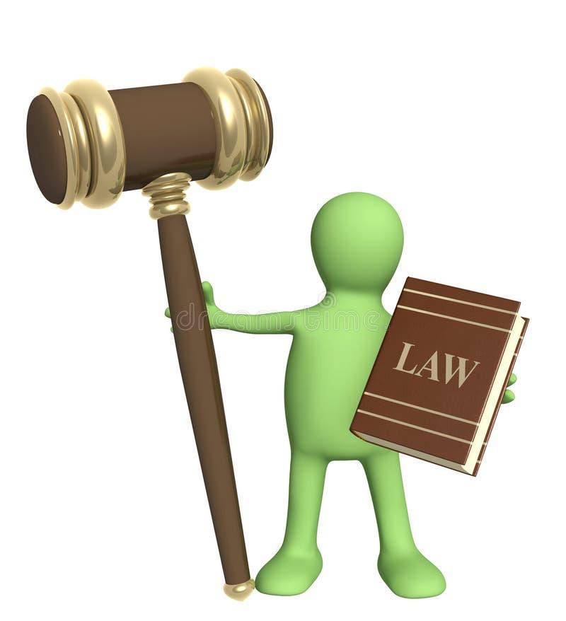 Judicature ilustração royalty free