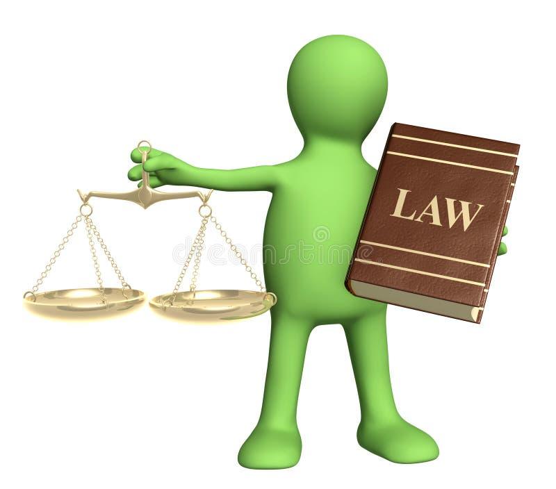 Download Judicature stock illustration. Image of lawyer, judgement - 17981873