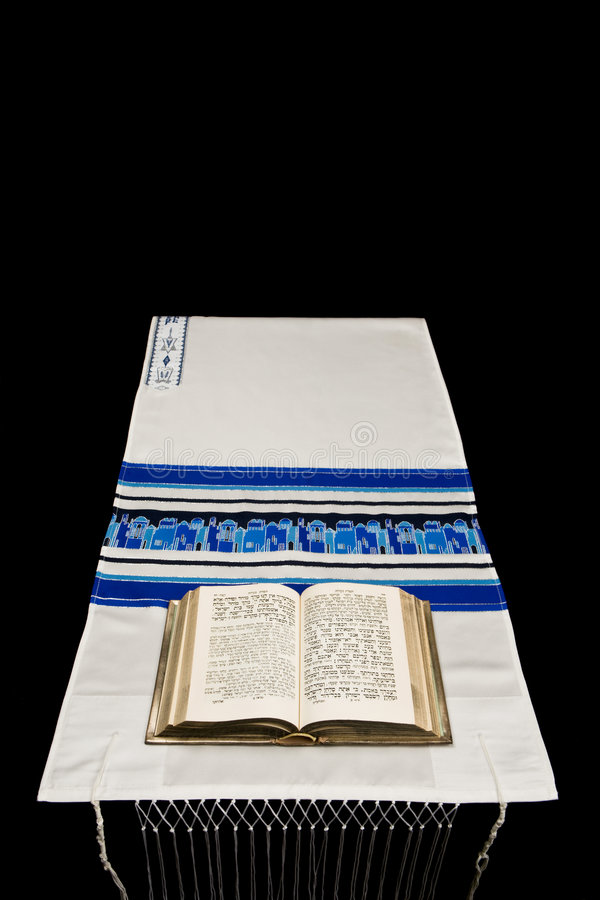 judisk bönsjaltallit arkivbilder