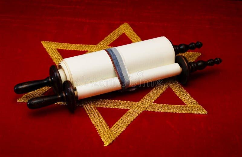 judisk scroll royaltyfria foton