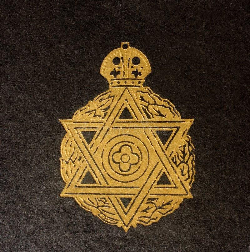 judisk tappning för bokomslagdetalj arkivfoton