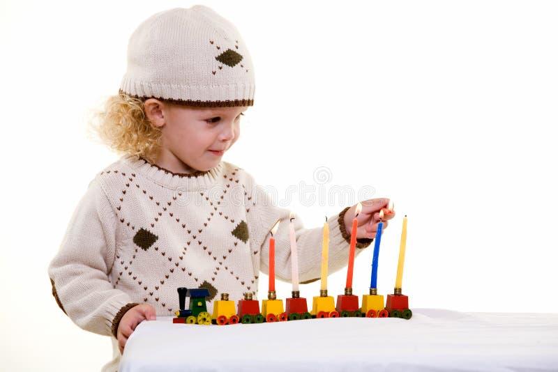 judiskt barn royaltyfria foton