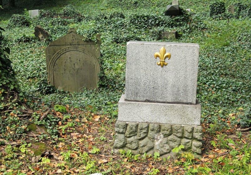 judiskt gammalt för kyrkogård arkivfoton