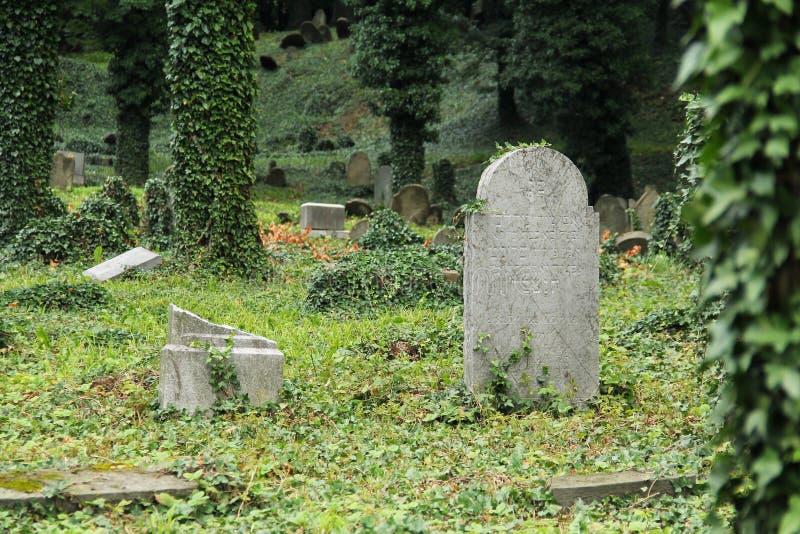 judiskt gammalt för kyrkogård royaltyfri fotografi