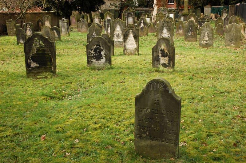 judiskt gammalt för kyrkogård royaltyfria foton