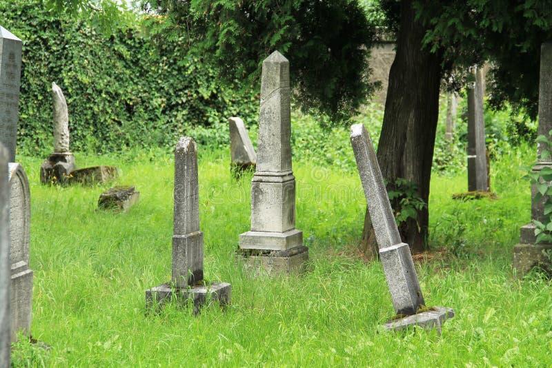 judiskt gammalt för kyrkogård royaltyfri foto