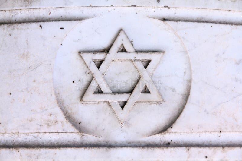 Judiskt symbol fotografering för bildbyråer