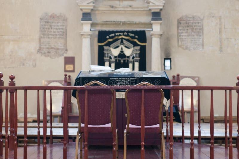 judiskt tempel royaltyfria bilder