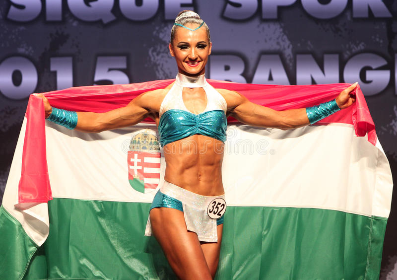 Judit Bistei της Ουγγαρίας στοκ φωτογραφία