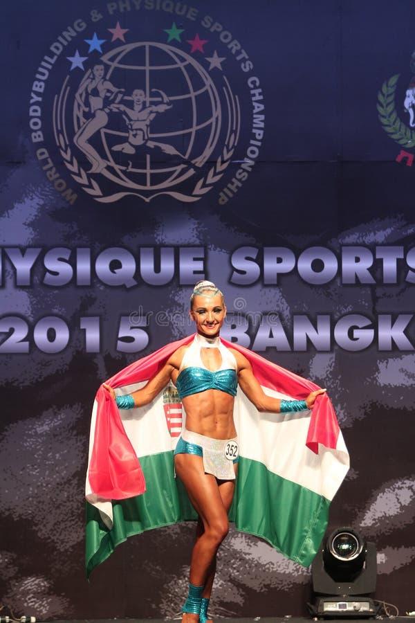 Judit Bistei von Ungarn lizenzfreies stockbild