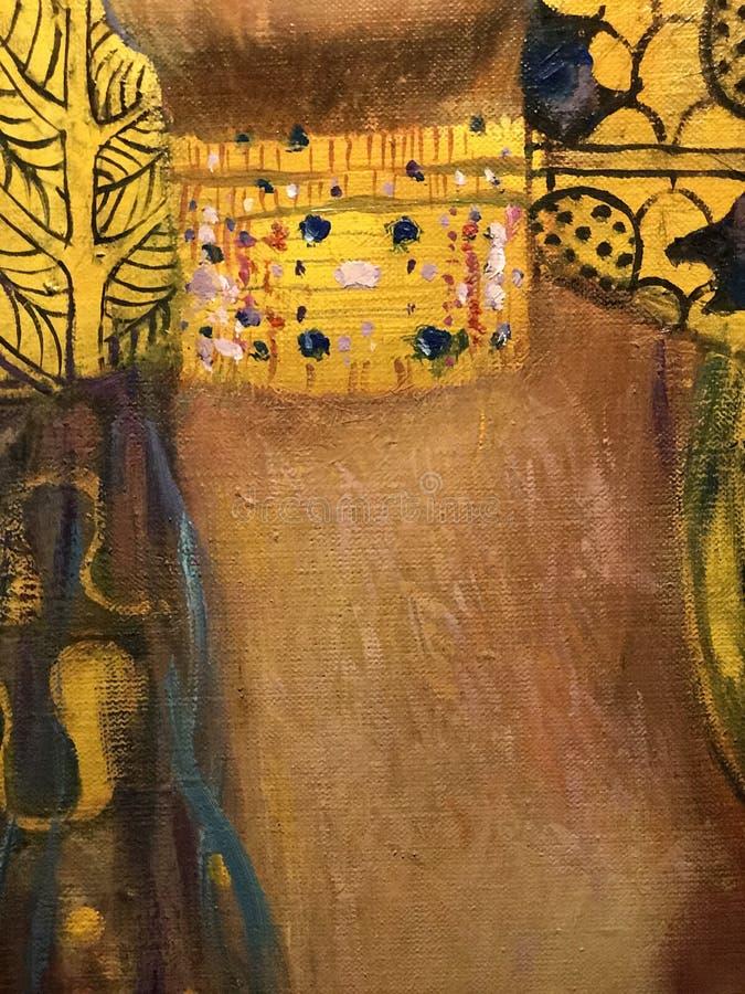 Judith I av Gustav Klimt arkivfoto