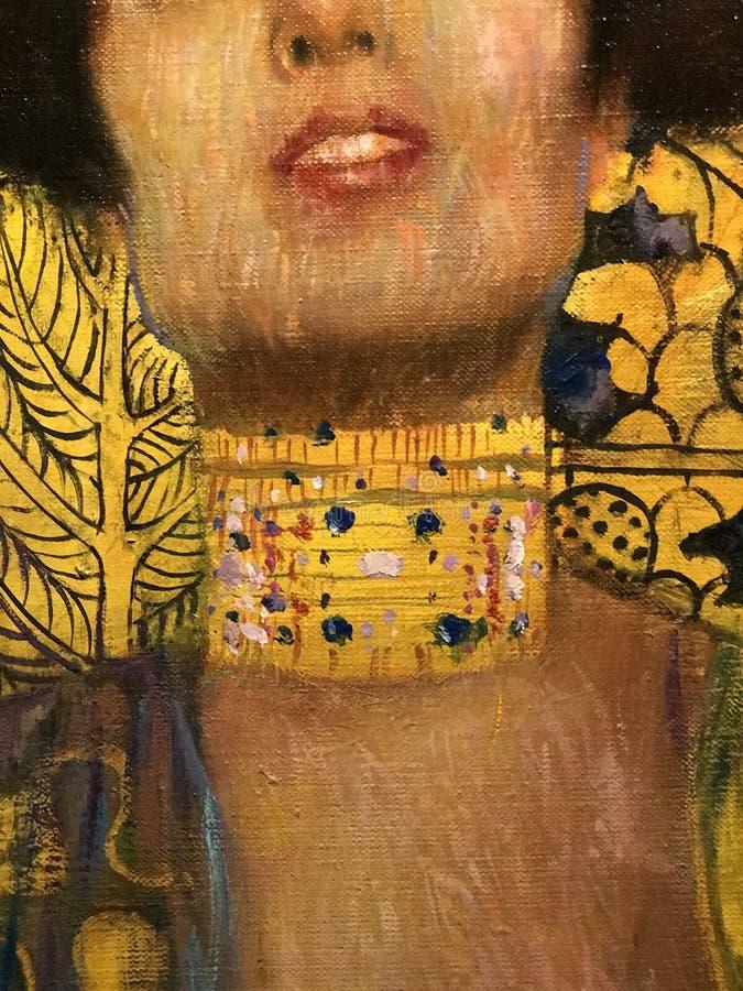 Judith och huvudet av Holofernes arkivfoto