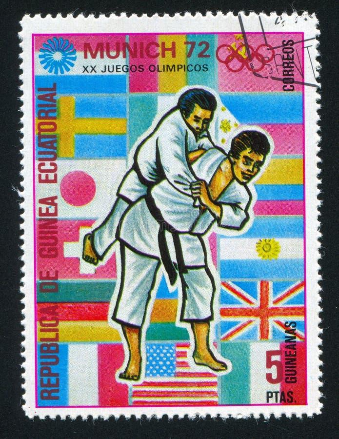 judo royalty-vrije stock foto's