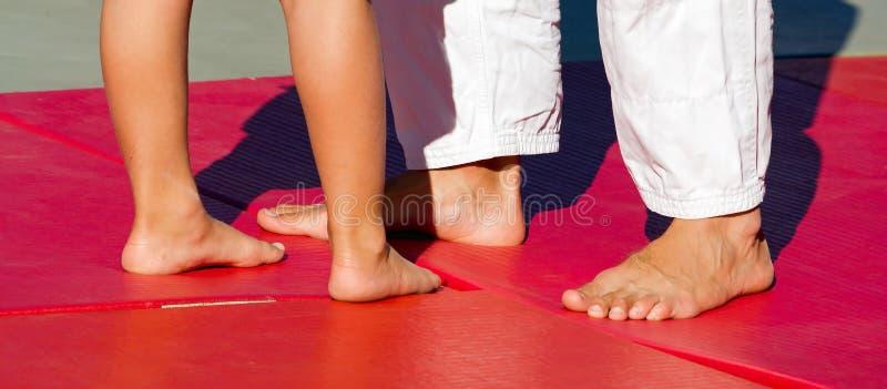 Judo arkivfoton
