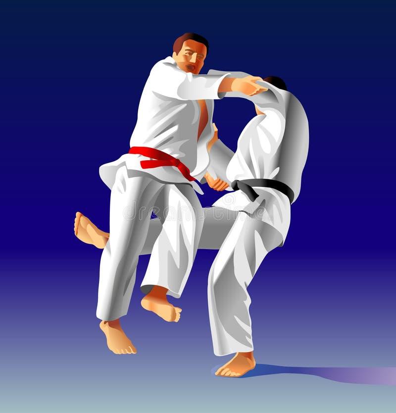 Judo stock afbeeldingen