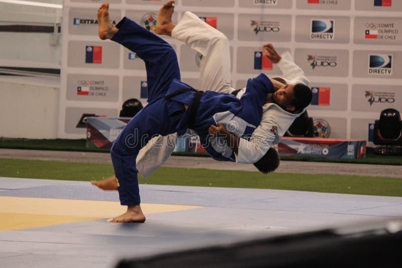 Judotoernooien royalty-vrije stock foto's