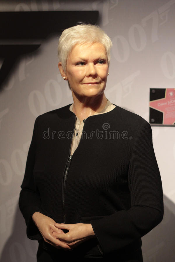 Download Judy Dench editorial stock image. Image of judy, madame - 36322199