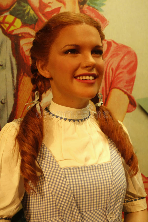 Download Judy Garland Wax Figure editorial stock image. Image of movie - 37645409