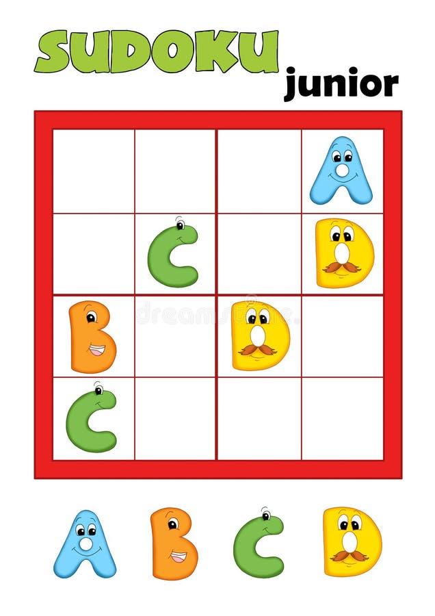 Juego 80, sudoku 2 stock de ilustración