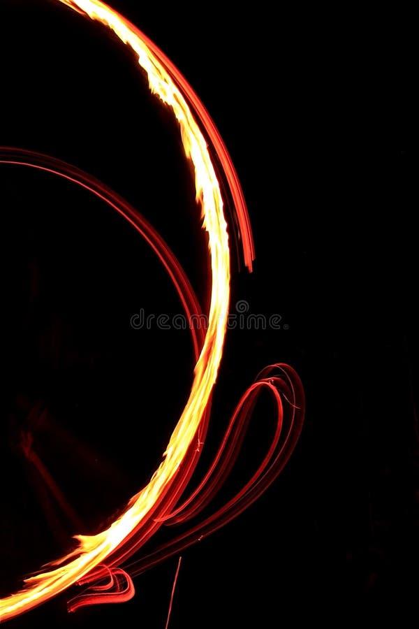 Juego Con El Fuego Foto de archivo