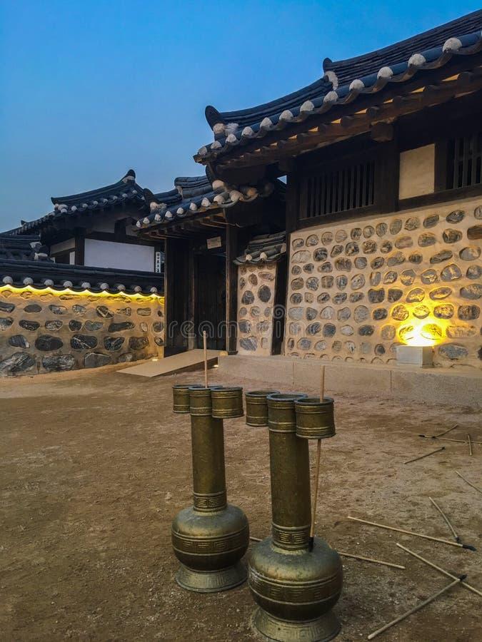 Juego coreano tradicional foto de archivo