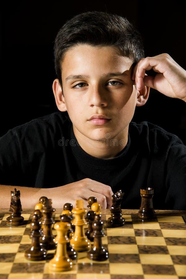 Juego de ajedrez foto de archivo