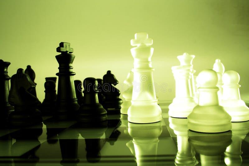 Juego de ajedrez fotografía de archivo libre de regalías