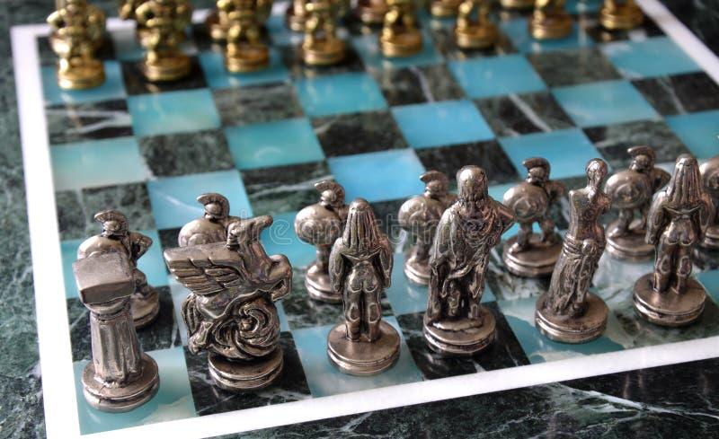 Download Juego de ajedrez de mármol imagen de archivo. Imagen de plata - 44851063