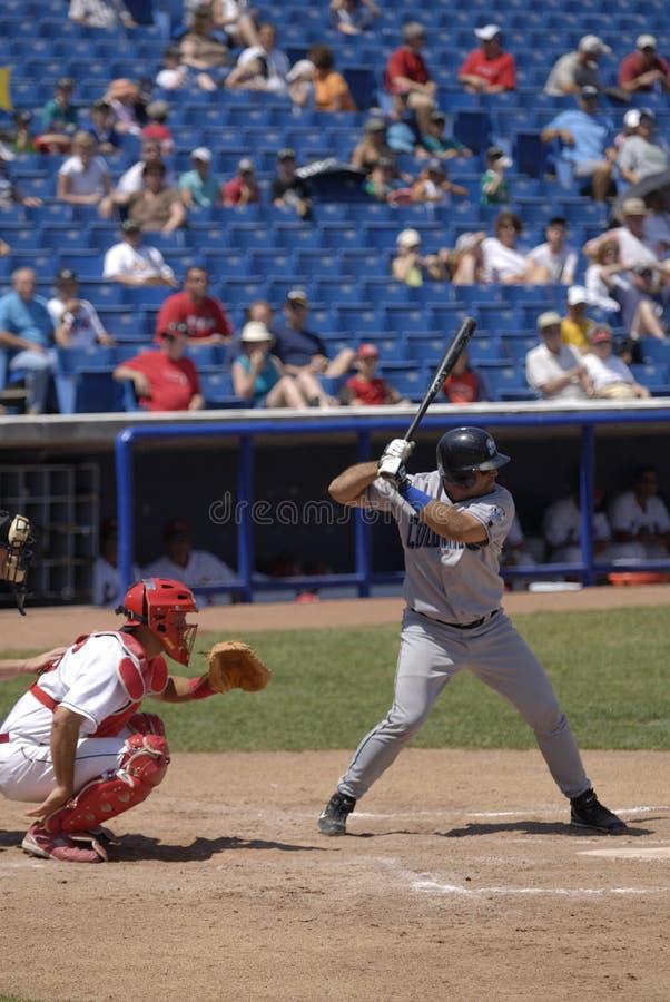 Juego de béisbol imagen de archivo libre de regalías