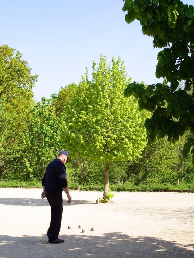 Juego de bolas, juego francés. fotos de archivo