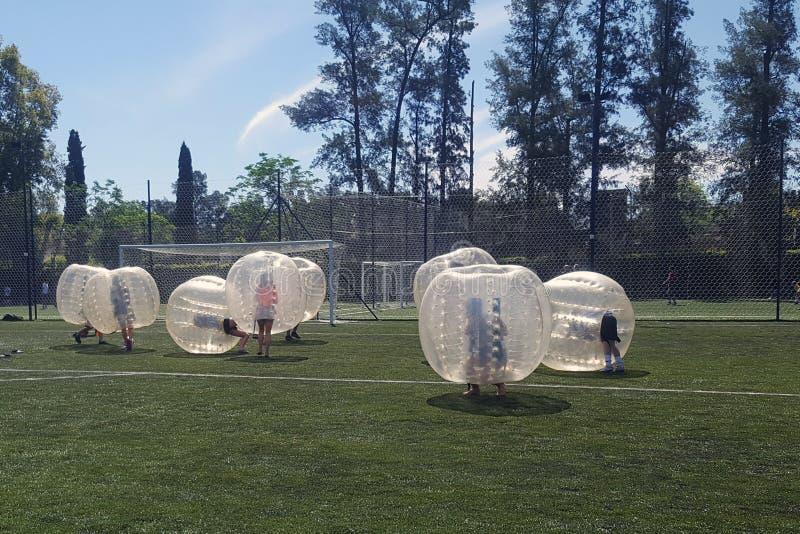 Juego de bolas de la burbuja foto de archivo libre de regalías
