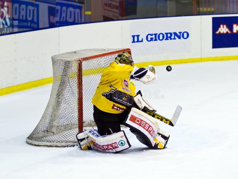 Juego de hockey imagen de archivo libre de regalías