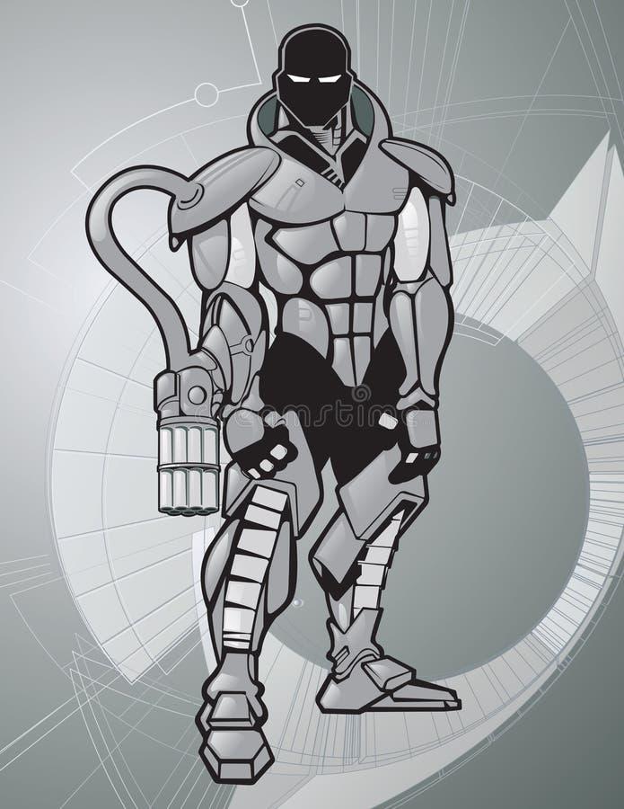 Juego de la guerra ilustración del vector